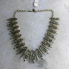 NEW KENDRA SCOTT GWENDOLYN Gold Plated Crushed Abalone Necklace $295