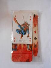 L'UOMO RAGNO le carte + la scatola 1°uscita MARVEL HEROES - nuovo blisterato