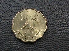 HONG  KONG   20  cents   1997