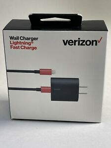 Verizon Wall Charger with 6 ft. Cable and LED Light for iPhone iPad iPod 5v/3A