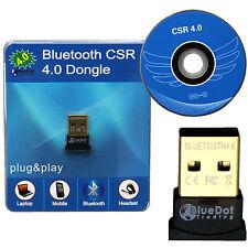 Mini USB Bluetooth 4.0 CSR CSR4.0 Adapter Dongle for PC LAPTOP WIN XP VISTA 7 8