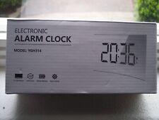 Electronic 5 inch Digital Alarm Clock Ygh314 Bedside Battery Backup Night