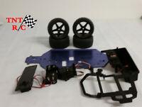 Redcat Shockwave frame, tires, 2 servos, radio tray ++ Free Shipping!!