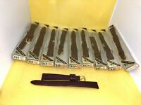 Lot Of 10 Speidel Mexico Genui Leather Gator Burgundy 13mm Watch Band Strap #807