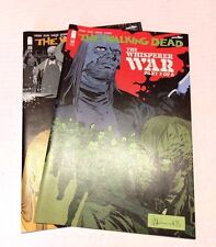 Walking Dead Image Comics #159 160 Whisperer War Part 3 & 4 Horror Kirkman Lot
