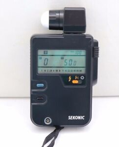 SEKONIC DIGI LITE F L 328 Light Meter w/ Strap JAPAN