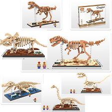 Dinosaur Fossil toy gift LOZ iBLOCK Lego Nano T-rex velociraptor Brachiosaurus