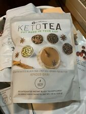 It Works Keto Chai Tea Spiced Decaffeinated Morning Instant 15 Single Servings