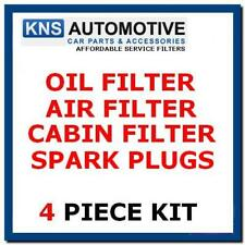 Chevrolet Aveo 1.2 Petrol 08-11 Plugs, Air, Cabin & Oil Filter Service Kit c6p