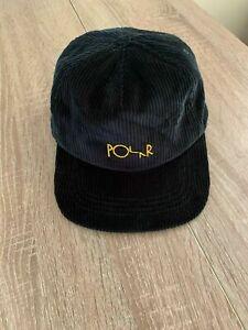 Polar Skate Co Cord Cap Black
