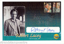 2005 Wedding - Westminster Autographed Editions Off - Signed ROBERT LACY