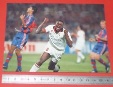 PHOTO L'EQUIPE FOOTBALL FINALE CHAMPIONS LEAGUE 1994 BARCELONA MILAN AC DESAILLY