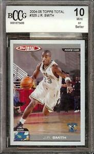 2004-05 Topps Total #325 J.R. Smith Rookie RC BCCG 10