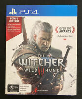 The Witcher 3 Wild Hunt (2015) Playstation 4 Game - Card Sleeve Edition - PS4