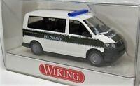 Wiking 1:87 VW T5 Bus Multivan OVP 0695 04 Feldjäger Bundeswehr Militär Polizei