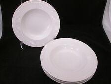 4 Mikasa Italian Countryside China Large Rim Soup Bowls DD900 Creamy White