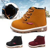 New Winter Toddler Boys Girls Warm   Boots Fashion Short Boots for Kids !