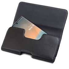 Samsung Galaxy Note 10 Belt Pouch Holster Holder PU Leather (Case Compatible)
