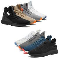 Men's High Top Sneakers Fashion Outdoor Walking Athletic Tennis Running Shoes