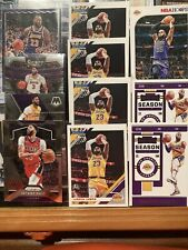 LeBron James Anthony Davis Lot (11) 2019-20 Donruss Select Contenders