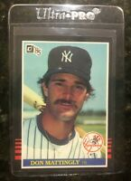 1985 Donruss Don Mattingly #295 - New York Yankees 2nd Year - LEGEND     NM-MT
