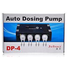 New listing Jebao Dp-4 Auto Dosing Pump Automatic Doser for Marine Reef Aquarium Fish Tank