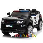 AUTO POLIZIA: macchina elettrica per bimbi telecomandata - lampeggianti & sirena