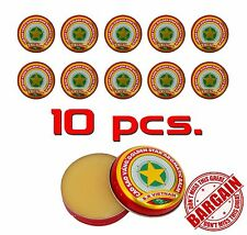 10 x 3g Golden Star Aromatic Balm - Cold Headache Runny nose Joint pain HERBAL