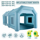 Inflatable Paint Booth Spray Booth Tent Car Paint Portable Cabin 2 Blowers