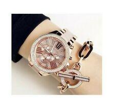 NEW Michael Kors MK6096 Wren Crystal Pave Dial Chronograph Ladies Wrist Watch
