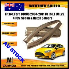 Weather Shield WeatherShield fit Ford FOCUS 2004-2011 LR LS LT LV SEDAN 5D HATCH