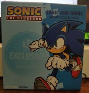 Sonic the Hedgehog: Sonic & Rings FigureLoot Crate Exclusive - New in Box