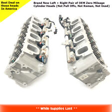 GM 5.3L L83 Cylinder Head Assembly w/Fuel Rails & Injectors Silverado Sierra SET