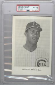 1966 Chicago Cubs Fergie Jenkins Team Issued Photos PSA 8