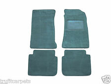 VK Commodore Carpet Floor Mats - Cerulean Loop-pile - Turquoise