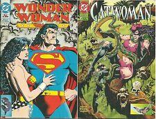 CATWOMAN / WONDER WOMEN n° 1 (Play Press, 1996)