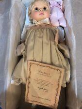 "Pauline Bjonness-Jacobsen June 20"" Doll Sarah Jane Limited 84/1800 Blonde New"