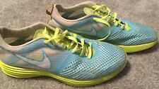Nike Women's Shoes LunarMTRL+ Size- 9.5 US Sneakers Running Light Blue/Green