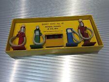 Vintage Dinky Toys / Classic / MIB / Gas Pumps & Oil Bin / Complete Set