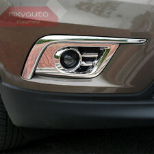 New Chrome Bumper Fog Light Molding Trim For Buick Envision 2016 2017