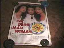 EAT DRINK MAN WOMAN ROLLED 27X41 ORIG MOVIE POSTER