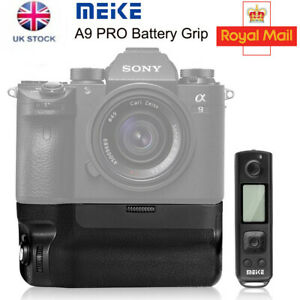 UK Meike MK-A9 Pro Vertical Battery Grip Remote Control for Sony A9 A7 A7RIII