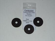 Fox 12000 xt mag reels set of Carbon or Carbontex Drag Washers