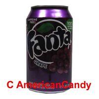 6 x 355ml Fanta Grape EE.UU. Importado Bebida suave (4,69€/litro)