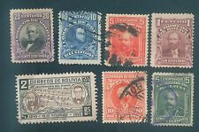 Bolivia Mix used stamps #1