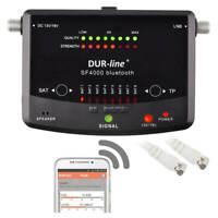 Profi Sat Finder 8 Satelliten SATFINDER Messgerät Bluetooth Dur Line SF 4000 BT
