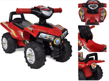 Kids Ride On Quad Bike Boys Childrens Toddler Baby Sports Toy Battery Sound Gift