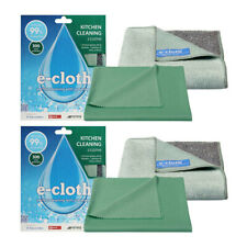 4pc E-Cloth Kitchen Cloth Washable Cleaning Glass/Polishing Cloth/Towel/Clean