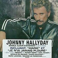 CD de musique variété édition Johnny Hallyday