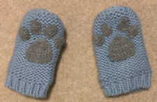 Joules Baby Boys Mittens / Gloves In Blue Paw Print - 12-24 Months